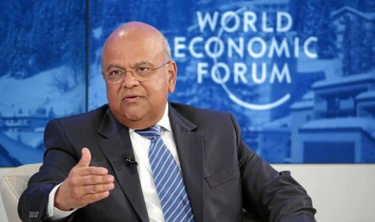 Gordhan champions emerging markets at #WEF17