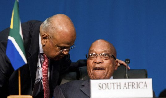 Zuma-Gordhan battle takes centre stage in SA budget